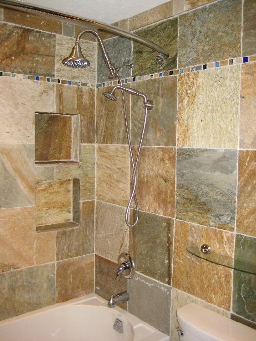 Baths/Showers Portfolios Ceramic, Porcelian, & Stone Tile Page 8