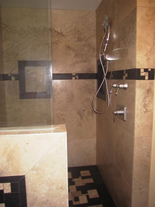 Ceramic, Porcelain, & Stone Baths/Showers one hundred ninty
